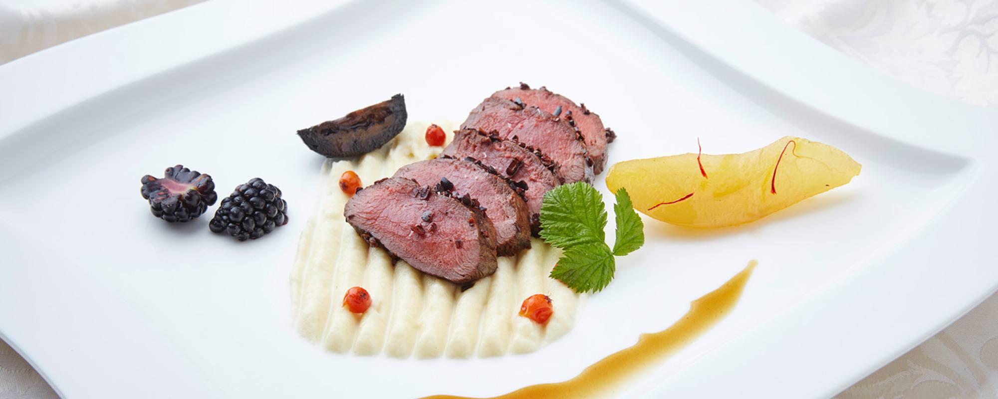 Gourmet Küche | Gourmet Kulinarische Genusse Im Hotel Kristall Hotel Kristall